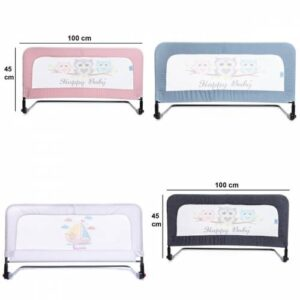 Katlanabilir Portatif Bebek Yatak Bariyeri 100 x 45 cm Ücretsiz Kargo - 2 Yıl Garanti