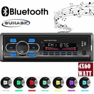 SUNAKS MNY-01 Oto Teyp Araba Teyp Radyo Bluetooth+2 Çift Usb/Sd/AUX+TELEFON ŞARJ VE USB PLAYER GİRİŞ