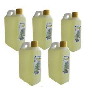 Haziran Kolonya 1 Litrelik 5 Adet 80 Derece Limon Kolonyası