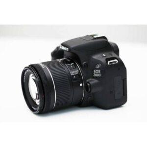 Canon EOS 200D 18-55mm Beyaz