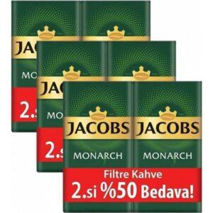 Jacobs Monarch Filtre Kahve 2 x 500 gr 3'lü Set (3 kg)