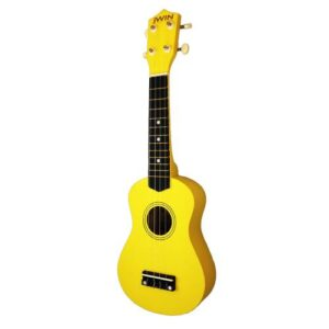 Jwin UK-2101 Soprano Ukulele Gitar - Sarı