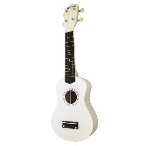 Jwin UK-2101 Soprano Ukulele Gitar - Beyaz