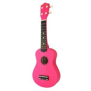 Jwin UK-2101 Soprano Ukulele Gitar - Fuşya