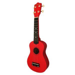 Jwin UK-2101 Soprano Ukulele Gitar - Kırmızı