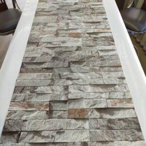 3 Boyutlu Taş Tuğla Desenli Duvar Kağıdı (5m²) - Tutkal Hediyeli - 9350