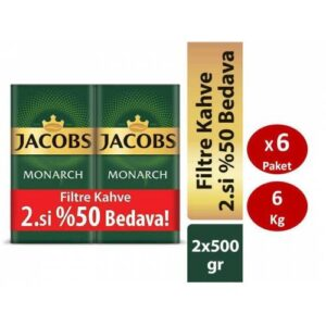 Jacobs Monarch Filtre Kahve 500 gr 2. si % 50 İndirimli