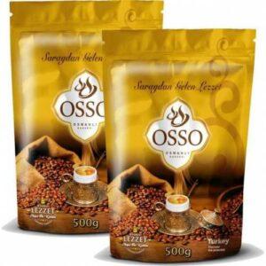 Osso Osmanli kahvesi 2 Adet 500 grm 1 kg Ücretsiz gönderim