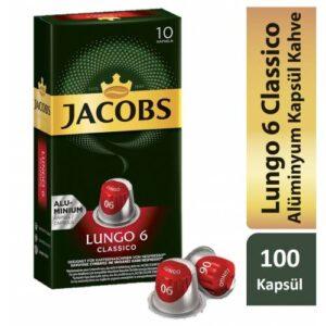 Jacobs Capsule Lungo 6 Classico 52 gr