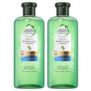 Herbal Essences Aloe Gücü + Bambu Sülfatsız Şampuan 2 x 380 ml