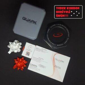 Quark QK10302 Su Geçirmez Rakamlı Çocuk Kol Saati (Yedek Kordon Hediyeli)