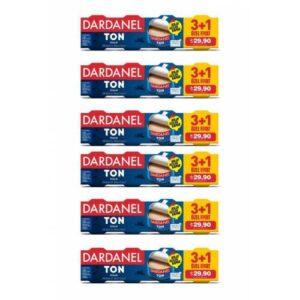 Dardanel 75 gr x 4 Ton Balığı (3+1) 6'lı Paket