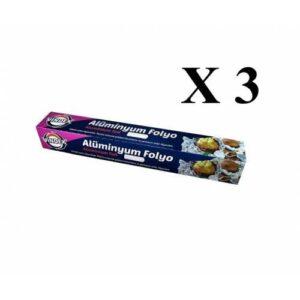Vindex Alüminyum Folyo 8 Metre x 30 Cm - 3 Paket