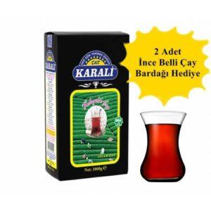 Karali Hediyelik Siyah Çay 1000 gr