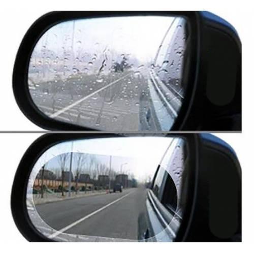 2 li Oto Araba Dış Dikiz Aynasına Takılan Yağmur Kaydırıcı Film Buğu Önleyici Su Tutmaz İtici folyo