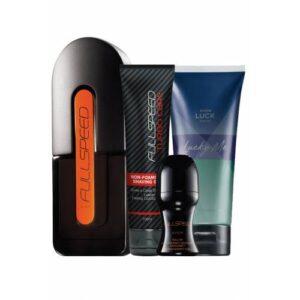 Avon Full Speed Erkek Parfümlü Kişisel Bakım Seti