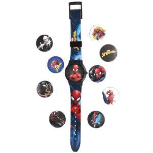 Spiderman SPD1920W Kapaklı Lisanslı Dijital Çocuk Kol Saati