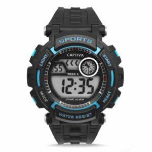 Dijital Spor Erkek Genç/Çocuk Kol Saati Kronometre Alarm 3ATM CHR652