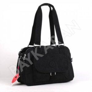 1122 Krinkıl Kumaş Bayan Çantası Smart Bags 01 Siyah