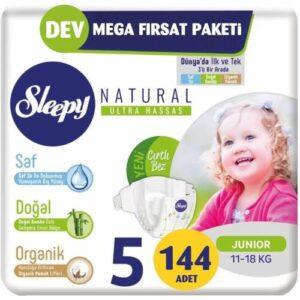 Sleepy Natural 5 Beden 144 Adet