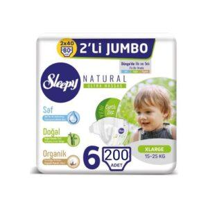 Sleepy Natural 6 Beden 40 Adet
