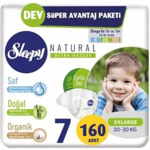 Sleepy Natural 7 Beden 32 Adet