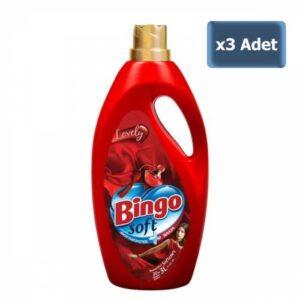 Bingo Soft Yumuşatıcı Lovely 3 lt x 3 Adet