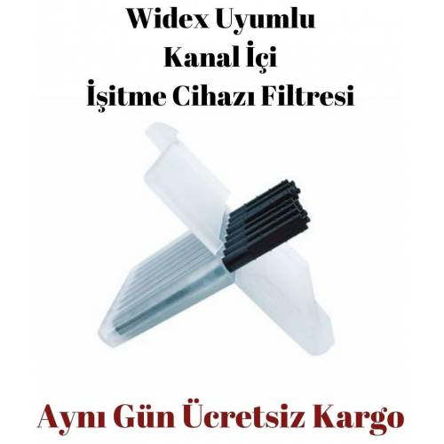 Widex KANAL İÇİ İŞİTME CİHAZI FİLTRESİ 8'Lİ KULAKLIK FİLTRESİ
