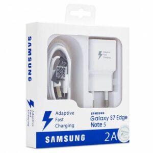 Samsung Galaxy Orjinal Hızlı Sarj Aleti Cihazı J2 J5 J7 - A3 A5 A7 - Note 2 4 5 - S6 S7 S6 S7 Edge
