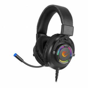 Rampage RM-K28 GHOST Siyah 7.1 Surround USB RGB Işık Efektli Gaming Oyuncu Mikrofonlu Kulaklık