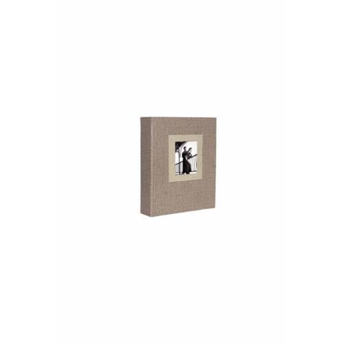 13x18 cm 100'lük Koton Desenli Fotoğraf Albümü Vizon ACR 16WPP57100