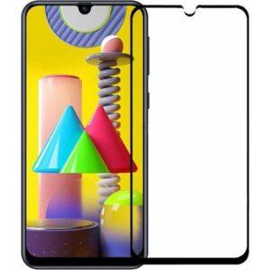 Samsung Galaxy M31 Tam Kaplayan Nano Seramik 5D - 9D Ekran Koruyucu Kırılmaz Cam Tam Koruma