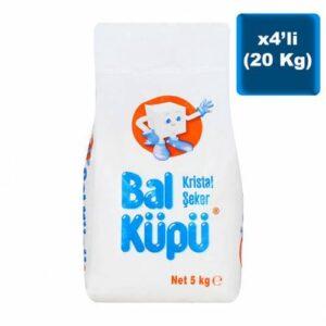 BalKüpü Toz Şeker 5 Kg x 4 Adet
