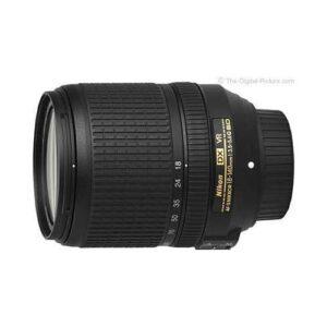 Nikon AF-S DX Nikkor 18-140 mm f/3.5-5.6G ED VR Objektif Hediyeli