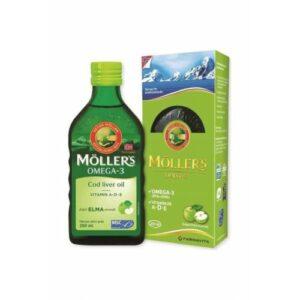 Möller's Omega 3 Balık Yağı 250 Ml Elma