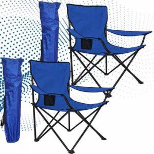 Çantalı Kamp Sandalyesi Balıkçı Plaj Piknik Koltuk 2 Adet