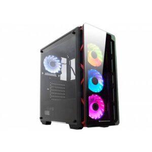 Xigmatek EN41466 ASTRO METALİK RED 650W 80Plus Power + 4 Adet RGB Led Fanlı + Usb 3.0 Temper Camlı
