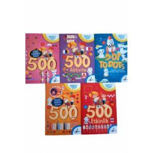 500 Eğitici Öğretici Etkinlik Aktivite Kitap Seti 5 Kitap 4 Yaş 5 Yaş 6 Yaş