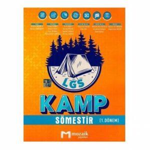Mozaik Yayınları 8. Sınıf LGS Kamp Sömestır 1. Dönem 2021