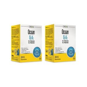 Ocean D3K2 20 ml Damla 2 Adet SKT:12/2022