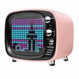 DIVOOM Tivoo Pink Bluetooth Hoparlör