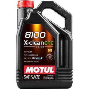 Motul 8100 X-Clean EFE 5W-30 5 litre