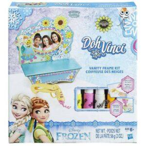 LİSANSLI - Doh-Vinci Frozen Makyaj Masası Tasarım Seti B5512