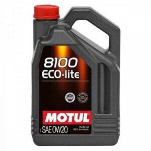 Motul 8100 Eco-lite 0W-20 4 litre