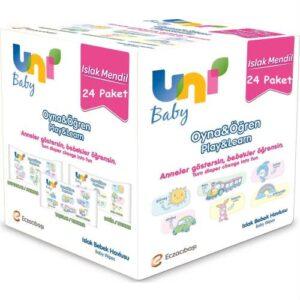 Uni Baby Oyna Öğren Islak Mendil 24lü Fırsat Paketİ 52x24 ( 1248 Yaprak )