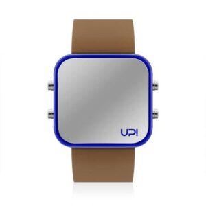 UPWATCH LED BLUE&BROWN