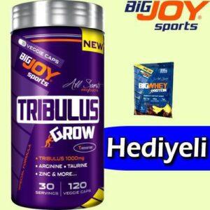 BigJoy Sports Tribulus GRW 120 Kapsül Özel Birleşik Yeni Formül