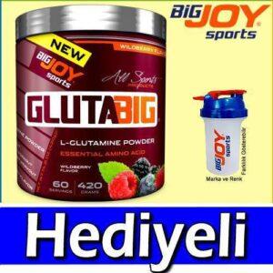 Bigjoy Glutabig Glutamin 420 Gr 2 Farklı Aromalı Glutamine Hediyeli 60 Servis