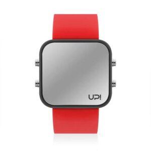 UPWATCH LED BLACK&RED