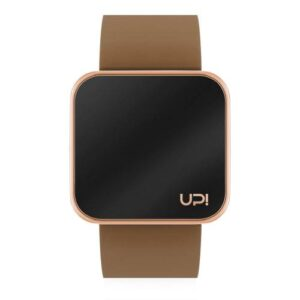 UPWATCH TOUCH SHINY ROSE&BROWN